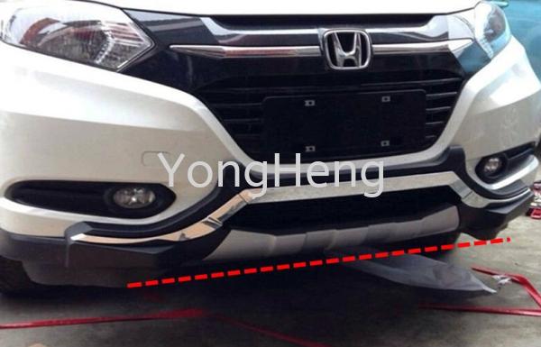 front bumper Chrome Guard Honda - HRV 2014 Accessories Johor Bahru JB Malaysia Supplier, Wholesaler | Yong Heng Auto Parts & Styling