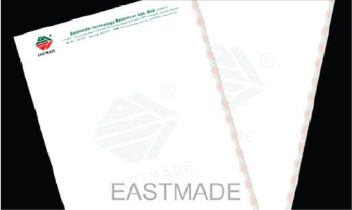 Security Letterhead Security Printing Malaysia, Penang, Pulau Pinang, Butterworth Manufacturer, Supplier, Supply, Supplies | Eastmade Technology Resources Sdn Bhd