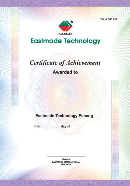 Security Certificates Security Printing Malaysia, Penang, Pulau Pinang, Butterworth Manufacturer, Supplier, Supply, Supplies | Eastmade Technology Resources Sdn Bhd