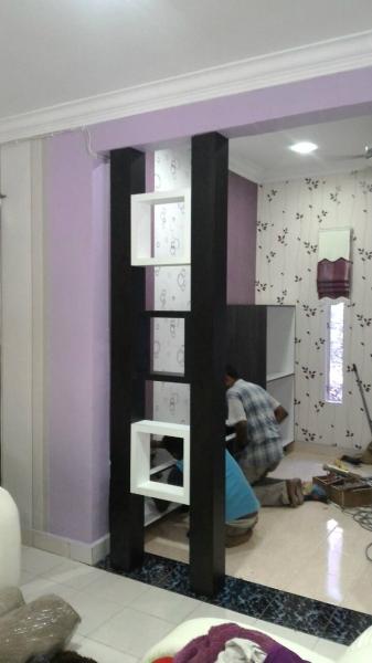 Divider Divider Living Room Design Selangor, Malaysia, Kuala Lumpur (KL), Kajang Supplier, Supplies, Service, Design | YKL Decoration