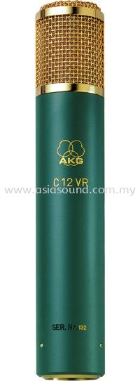 C12 VR Reference Recording Microphones AKG Kuala Lumpur (KL), Selangor, Malaysia, Cheras, Petaling Jaya (PJ) Supplier, Supply, Importer, Distributor | Asia Sound Equipment (M) Sdn Bhd