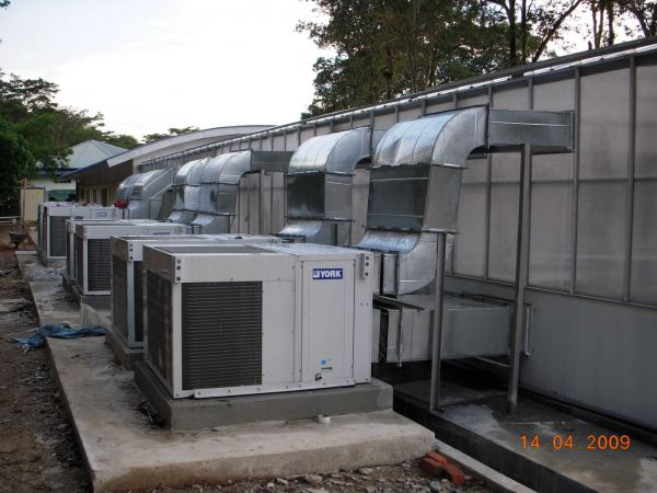 General View to Green House Project at University Malaya at Kuala Lumpur Completed Project - Air Conditioning and Ventilation Services Selangor, Sg Buloh, Malaysia Design, Installation, Maintenance | EAS Technologies Sdn Bhd / EAS M&E Services Sdn Bhd