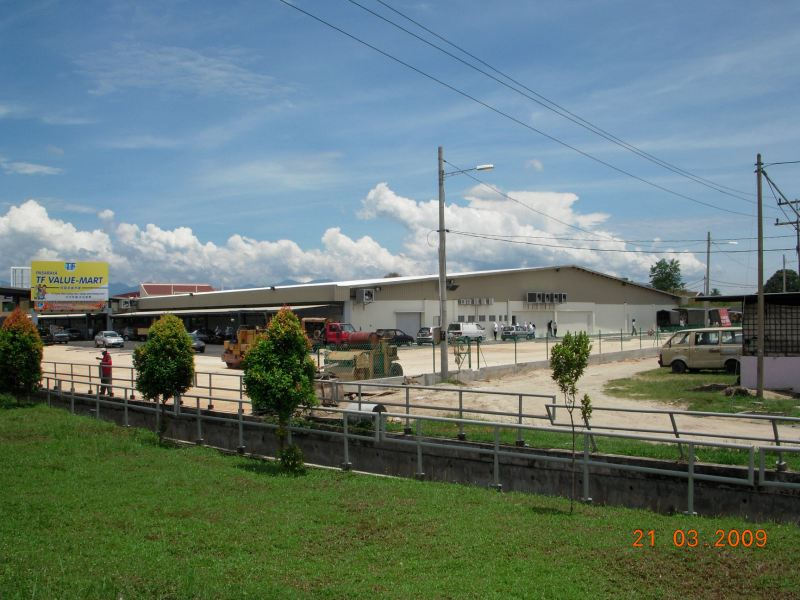 General View To Tf Value Mart At Batu Gajah Completed Project