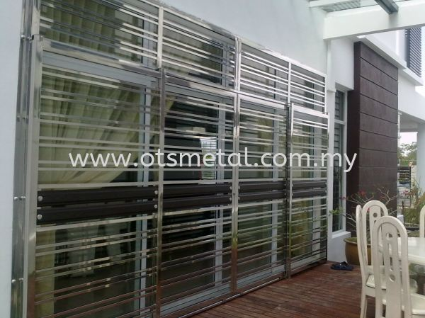 SSD004 Stainless Steel Door Johor Bahru (JB), Skudai  Design, Supplier, Supply   OTS Metal Works