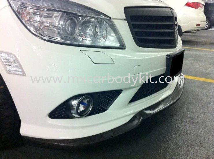 MERCEDES BENZ W204 2007 FRONT LIP FOR AMG BUMPER CARBON FIBER  MERCEDES BENZ CARBON FIBER BODY KITS Johor, Malaysia, Johor Bahru (JB), Masai. Supplier, Suppliers, Supply, Supplies | MX Car Body Kit