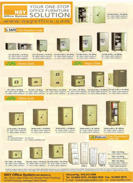 Safety Box SECURITY BOX/ SAFETY BOX Malaysia, Selangor, Kuala Lumpur (KL), Puchong Supplier, Suppliers, Supply, Supplies | NSY Office System