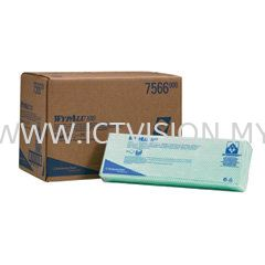 Kimberly Clark WYPALL X80 Colour Green 07566  WYPALL Wipers  - HACCP , Hygiene Compliant Wipers - HACCP / FDA Compliant  (Kimberly Clark WYPALL) Johor Bahru (JB), Johor Supplier, Suppliers, Supply, Supplies | ICT Vision Sdn Bhd