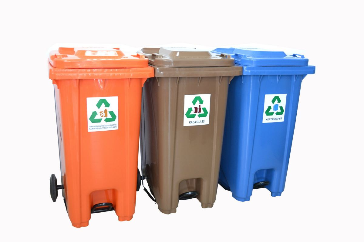 EH Recycling Bins with Foot Pedal 120L/240L Recycle Bins Malaysia, Selangor, Kuala Lumpur (KL), Shah Alam. Supplier, Suppliers, Supply, Supplies | Elite Hygiene (M) Sdn Bhd