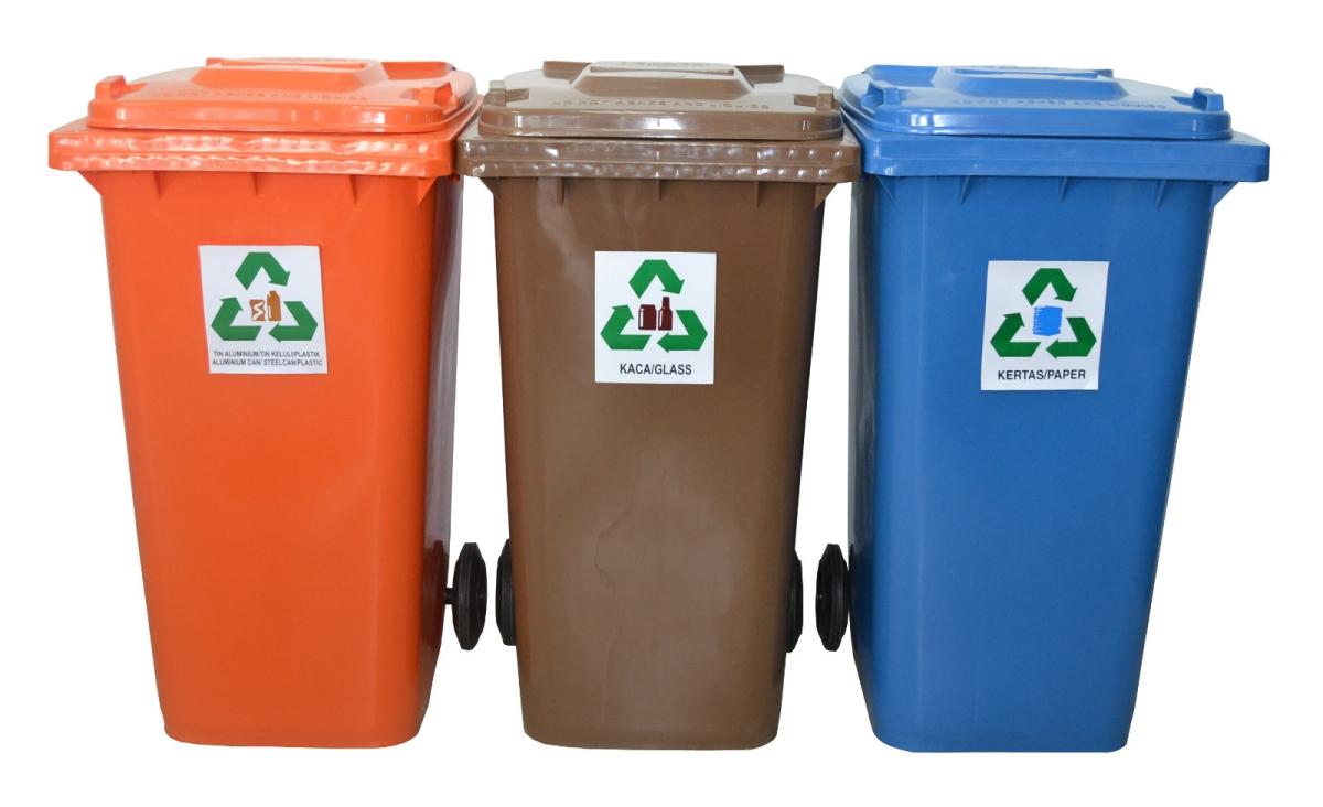 EH Recycling Bins 120L / 240L Recycle Bins Malaysia, Selangor, Kuala Lumpur (KL), Shah Alam. Supplier, Suppliers, Supply, Supplies   Elite Hygiene (M) Sdn Bhd
