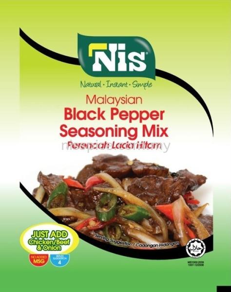 Black Pepper Seasoning Nis Malaysian Black Pepper Seasoning Retail Packaging Skudai, Johor Bahru (JB), Malaysia. Manufacturers, Suppliers, Supply, Supplies | NIS Spice Manufacturing Sdn Bhd