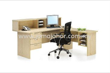Reception Counter VS Office Furniture Wooden Furniture Johor Bahru (JB), Johor Supplier, Suppliers, Supply, Supplies | Joma (Johor) Sdn Bhd