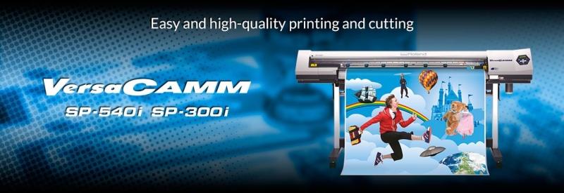 VersaCAMM SP Series Print and Cut Printers ROLAND Malaysia, Johor Bahru (JB), Selangor, Sabah Supplier, Supply, Supplies, Dealer | Image Junction Sdn Bhd