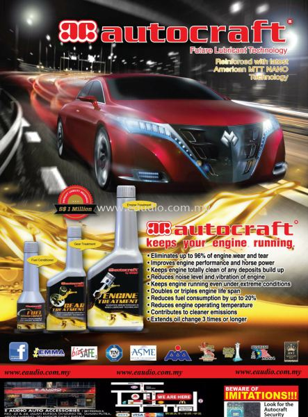 Autocraft Engine Treatment  Engine Treatment  Performance Selangor, Malaysia, Kuala Lumpur, KL, Ampang. Supplier, Suppliers, Supplies, Supply | E Audio Auto Accessories