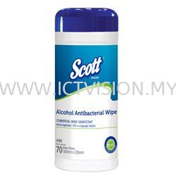 Kimberly Clark SCOTT  Alcohol Antibacterial Wipers  WYPALL Wipers  - HACCP , Hygiene Compliant Wipers - HACCP / FDA Compliant  (Kimberly Clark WYPALL) Johor Bahru (JB), Johor Supplier, Suppliers, Supply, Supplies | ICT Vision Sdn Bhd