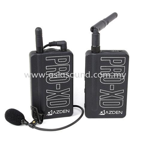 PRO-XD Azden i-Coustics Azden Kuala Lumpur (KL), Selangor, Malaysia, Cheras, Petaling Jaya (PJ) Supplier, Supply, Importer, Distributor   Asia Sound Equipment (M) Sdn Bhd