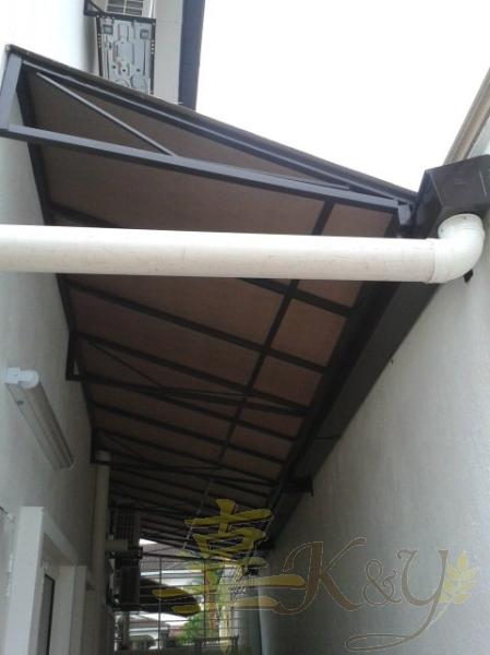 Mild Steel Polycarbonate Skylight Polycarbonate Skylight Selangor, Malaysia, Kuala Lumpur (KL), Semenyih Service, Contractor, Supplier, Supply | K & Y Awning Renovation