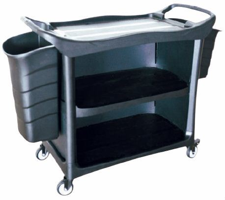 EH 3 Tiers Utilities Cart c/w 3 Side Cover & Bucket 3UC-612 Cart Trolley/Front Office/House Keeping/Restaurant/Kitchen Malaysia, Selangor, Kuala Lumpur (KL), Shah Alam. Supplier, Suppliers, Supply, Supplies | Elite Hygiene (M) Sdn Bhd