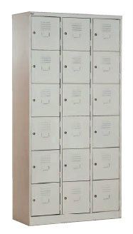 18 COMPARTMENT LOCKER STEEL FURNITURE Malaysia, Selangor, Kuala Lumpur (KL), Puchong Supplier, Suppliers, Supply, Supplies | NSY Office System