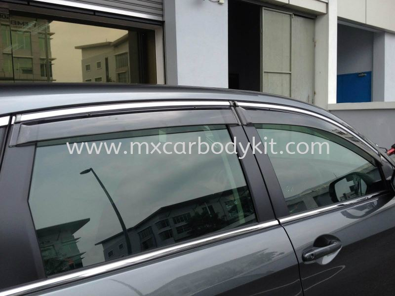 HONDA CRV 2013-2014 MODULO DOOR VISOR DOOR VISOR ACCESSORIES AND AUTO PARTS Johor, Malaysia, Johor Bahru (JB), Masai. Supplier, Suppliers, Supply, Supplies | MX Car Body Kit