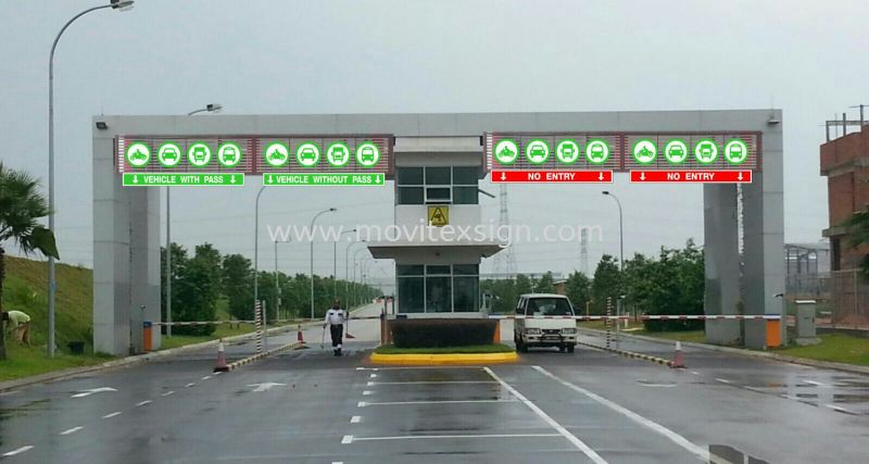 Entrance signboard for your Industry park front image for your safety traffic flow directions (view for more detail) Billboard and Building Signage Johor Bahru (JB), Johor, Malaysia. Design, Supplier, Manufacturers, Suppliers | M-Movitexsign Advertising Art & Print Sdn Bhd