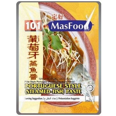 MasFood 101 Portuguese Style (Steamed-Fish) Paste Nyonya Style Paste Malaysia, Johor Bahru (JB), Johor, Kulai Manufacturer | MASBEST FOOD INDUSTRIES SDN. BHD.
