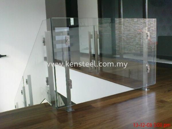 Glass staircase 1 Stainless Steel Glass Staircase Seri Kembangan, Selangor, Kuala Lumpur, KL, Malaysia. Supplier, Suppliers, Supplies, Supply | Kensteel