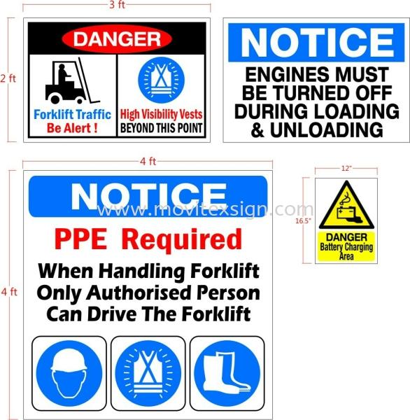 ppe design safety signage for Slic Gelang Patah SME lndahpurah FACTORY  Safety Signage safety sign sample Johor Bahru (JB), Johor, Malaysia. Design, Supplier, Manufacturers, Suppliers   M-Movitexsign Advertising Art & Print Sdn Bhd