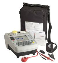 PAT420 Portable appliance tester with on-board data storage