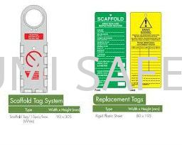 Scaffold Tag System Others Protection Selangor, Kuala Lumpur (KL), Puchong, Malaysia Supplier, Suppliers, Supply, Supplies   Bumi Nilam Safety Sdn Bhd
