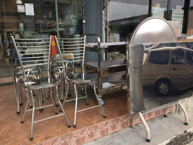 Stainless Steel Table and Chair Set  Dining Table & Chair Stainless Steel Item Johor Bahru JB Malaysia Supply, Supplier, Supplies | Xuan Huat Food Equipment Sdn Bhd