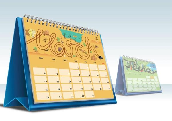 Table Calendar Table Calendar Penang, Pulau Pinang, Malaysia Supplier, Suppliers, Supply, Supplies | De Print
