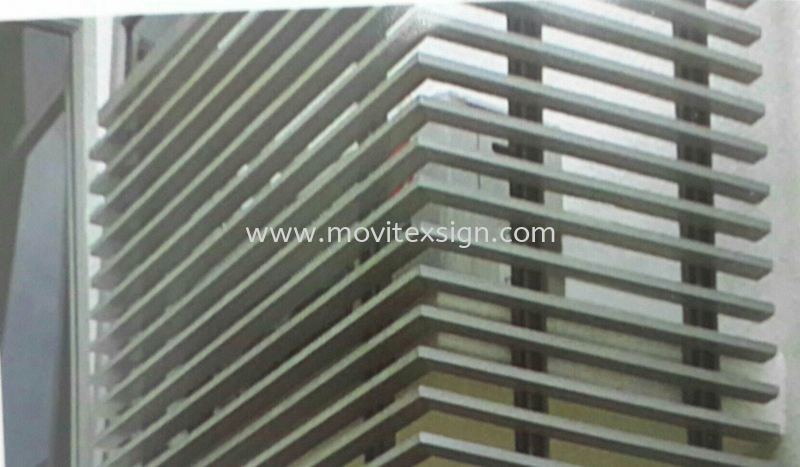 window strips line products  n polycarbonate  Production Johor Bahru (JB), Johor, Malaysia. Design, Supplier, Manufacturers, Suppliers | M-Movitexsign Advertising Art & Print Sdn Bhd