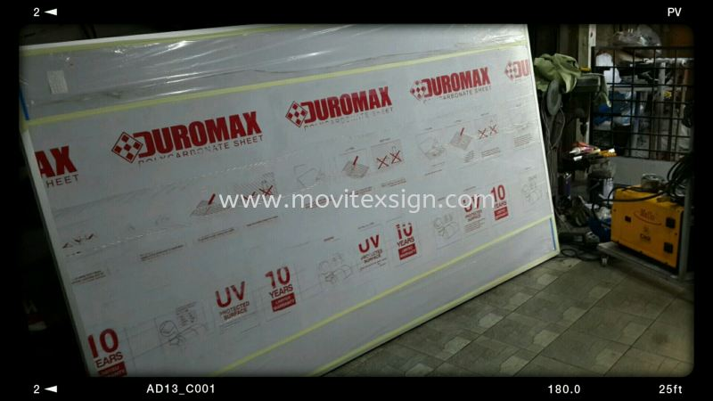board n frame products polycarbonate  Production Johor Bahru (JB), Johor, Malaysia. Design, Supplier, Manufacturers, Suppliers | M-Movitexsign Advertising Art & Print Sdn Bhd
