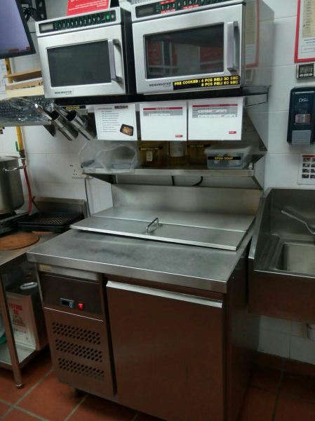 Counter Chiller Counter Chiller Fridge JB Johor Bahru Supply, Suppliers, Installation, Repairing | Toyofam Air Cond Services Sdn Bhd