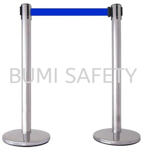 Stainless Steel Self Retractable Belt Q-UP Stand Safety Vest / Traffic Control Selangor, Kuala Lumpur (KL), Puchong, Malaysia Supplier, Suppliers, Supply, Supplies   Bumi Nilam Safety Sdn Bhd