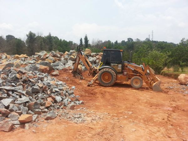 Backhoe Loader With Hydraulic Breaker Backhoe Loader With Hydraulic Breaker Rental Johor Bahru (JB), Malaysia, Johor Service, Supplier, Supply, Supplies | Sunway Earthworks Engineering