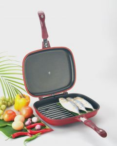 Barbecue Double Grill Pan