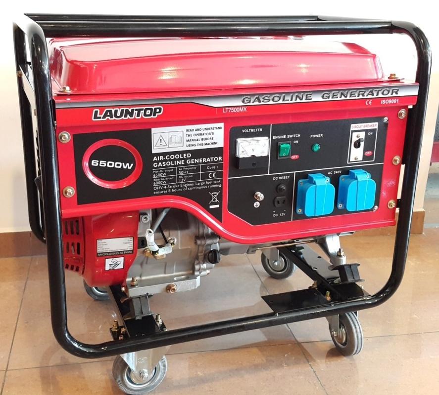 Launtop Petrol Generator 6000W LT7500CL (Coil Start)  ID228472