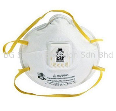 <3M> N95, 8210V Classic Particulate Respirator with valve Disposable Mask Respiratory Protection Johor Bahru (JB), Malaysia, Tampoi Supplier, Supplies, Supply, Provider | BG Safety Solution Sdn Bhd