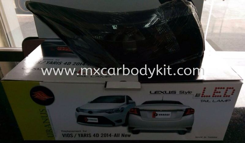 TOYOTA VIOS 2013 TAIL LAMP SMOKE COLOUR  TAIL LAMP ACCESSORIES AND AUTO PARTS Johor, Malaysia, Johor Bahru (JB), Masai. Supplier, Suppliers, Supply, Supplies   MX Car Body Kit
