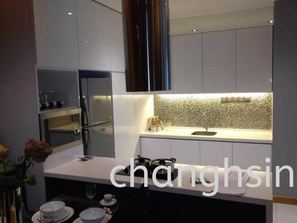 WOOD + SOLID SURFACE TOP TABLE TOP - SOLID SURFACE STYLES CABINETS Kedah, Malaysia, Kulim Supplier, Suppliers, Supply, Supplies | Chang Hsin Industry (M) Sdn Bhd