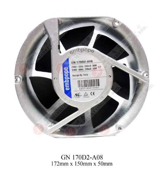 GN170D2-A08(WHITE) EMBPOPE BLOWER Johor Bahru, JB, Johor. Supplier, Suppliers, Supplies, Supply   SCE Marketing Sdn Bhd