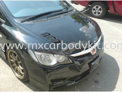 HONDA CIVIC TYPE R BONNET CARBON FIBRE  CIVIC FD 2006 - 2011 HONDA Johor, Malaysia, Johor Bahru (JB), Masai. Supplier, Suppliers, Supply, Supplies | MX Car Body Kit