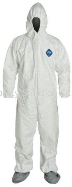 <DU PONT> 1422A Tyvek Coverall - particle barrier Safety Workwear / Coverall Body Protection Johor Bahru (JB), Malaysia, Tampoi Supplier, Supplies, Supply, Provider | BG Safety Solution Sdn Bhd