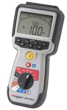 MIT420/2 CAT IV Insulation Testers