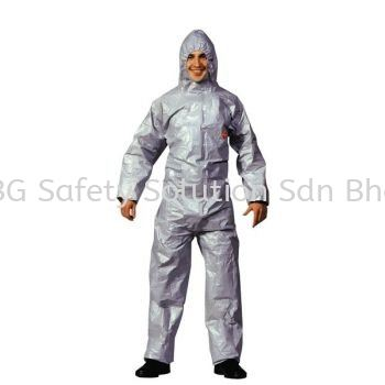 <DU PONT> Tychem F Coverall - for chemicals Safety Workwear / Coverall Body Protection Johor Bahru, JB, Tampoi, Johor, Malaysia. Supplier, Supplies, Supply, Provider | BG Safety Solution Sdn Bhd