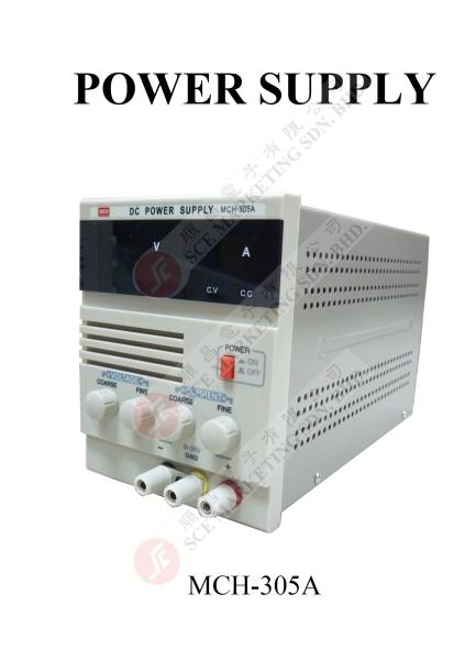 MCH-305A POWER SUPPLY POWER SUPPLY Johor Bahru, JB, Johor. Supplier, Suppliers, Supplies, Supply | SCE Marketing Sdn Bhd
