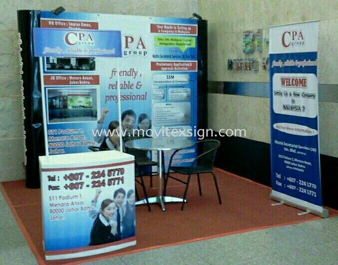 Exhibition Set for road show units  Exhibition Johor Bahru (JB), Johor, Malaysia. Design, Supplier, Manufacturers, Suppliers | M-Movitexsign Advertising Art & Print Sdn Bhd