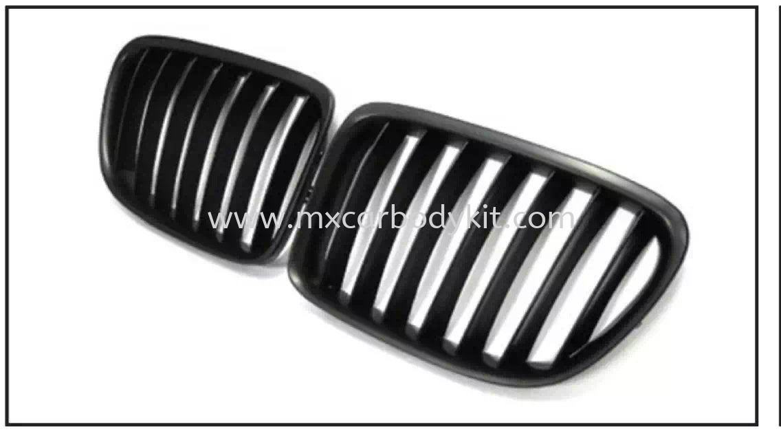BMW X1 SERIES E84 2010 & ABOVE FRONT GRILLE GRILLE ACCESSORIES AND AUTO PARTS Johor, Malaysia, Johor Bahru (JB), Masai. Supplier, Suppliers, Supply, Supplies | MX Car Body Kit