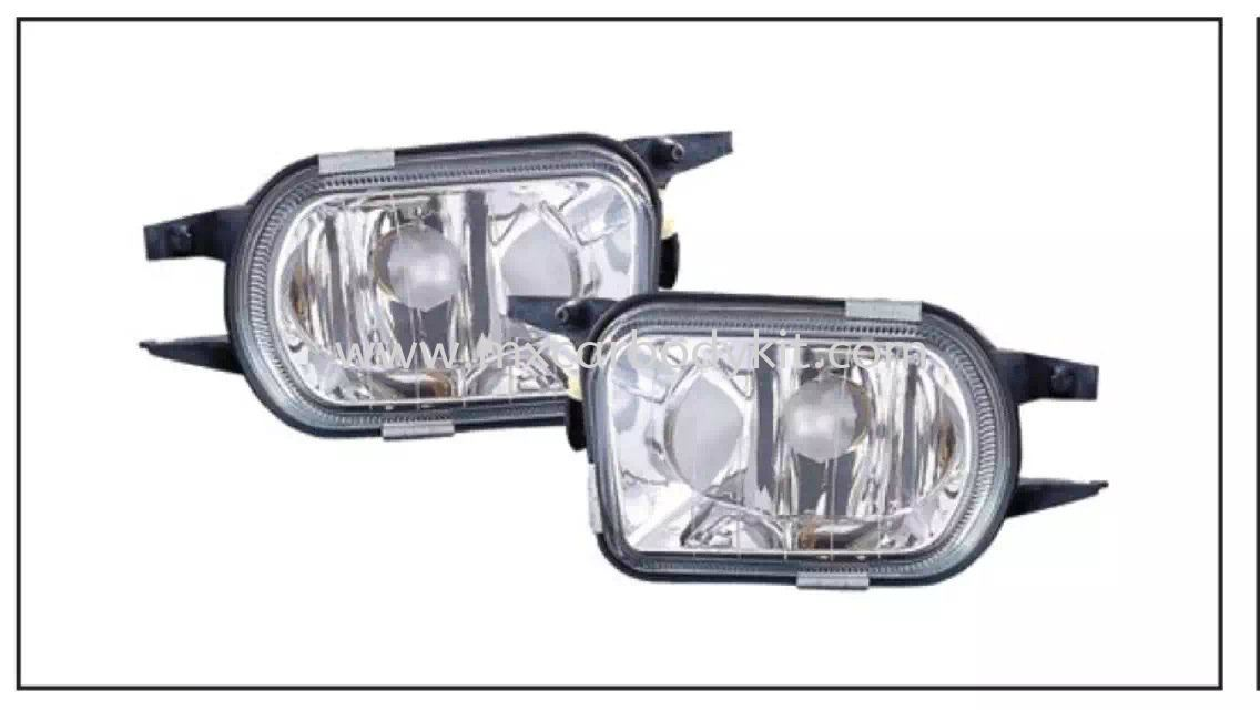 MERCEDES BENZ C-CLASS W203 2000' FOG LAMP CRYSTAL GLASS LENS FOG LAMP ACCESSORIES AND AUTO PARTS Johor, Malaysia, Johor Bahru (JB), Masai. Supplier, Suppliers, Supply, Supplies | MX Car Body Kit